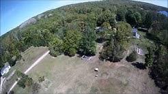DRONE AT OTTER LAKE  TAPIOLA ,MICHIGAN