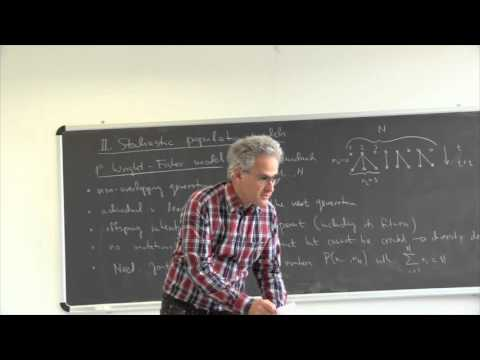 J. Krug. Statistical Physics of Biological Evolution 2