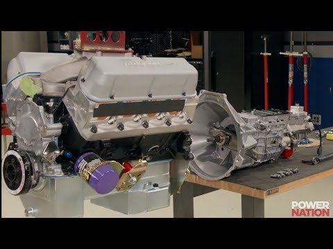 Engine And Transmission >> How To Mate An Engine And Transmission Youtube