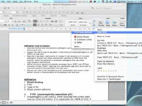 How To Convert Word Notebook Layout Document Into PDF For MAC  Notebook Template For Word