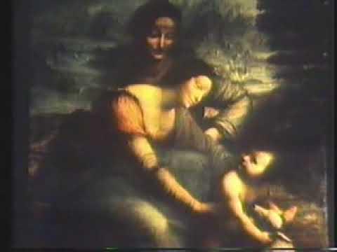 """Leonardo da Vinci: """"The Virgin and Child with St Anne"""""""