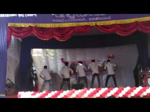 RSM sndp college Union Inauguration 2K 16.  2nd year BBA mass fusion dance