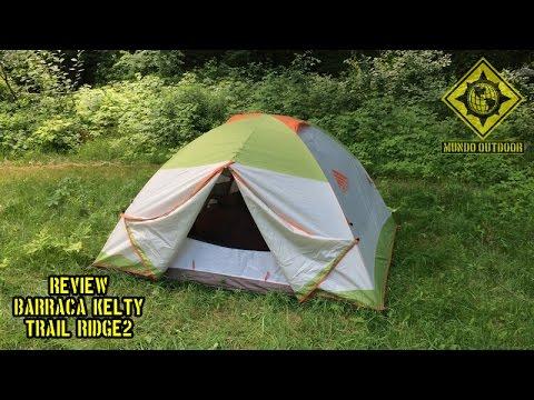 Barraca Kelty Trail Ridge 2 - Primeiras Impressões (Tent) & Barraca Kelty Trail Ridge 2 - Primeiras Impressões (Tent) - YouTube