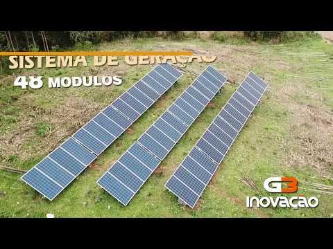 #04 - GERAÇÃO DISTRIBUÍDA - 48 MÓDULOS   CARAÁ - ON GRID