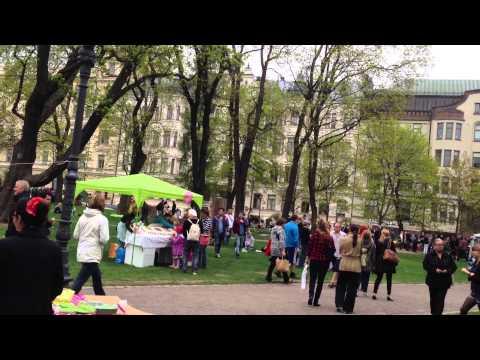 Restaurant Day In Helsinki / Ravintolapäivä Helsingissä ( Vanha kirkkopuisto,18.5.2013 )
