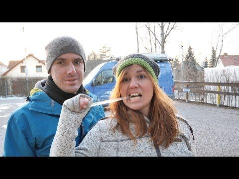 """Wir sind wieder """"on the road"""" - Wintercamping in Deutschland"""