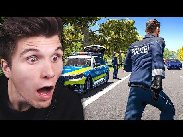 Steinewerfer auf der AUTOBAHN | Autobahn-Polizei Simulator