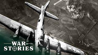 Target For Today: Destŗoying Nazi Aircraft Factories | Battlezone | War Stories