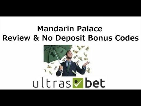 Mandarin Palace Review & No Deposit Bonus Codes