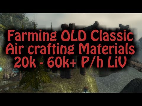 Old Classic Air materials 20k-60k p/h LiV