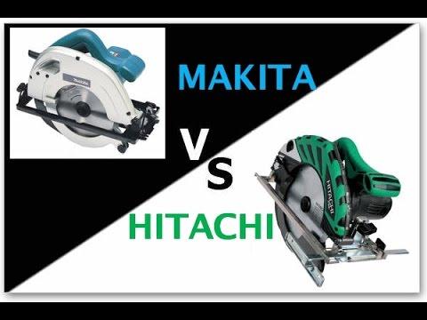 Serra circular manual Makita vs Hitachi