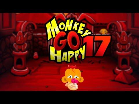 """Игра """"Счастливая Обезьянка 17"""" (Monkey GO Happy 17) - прохождение"""