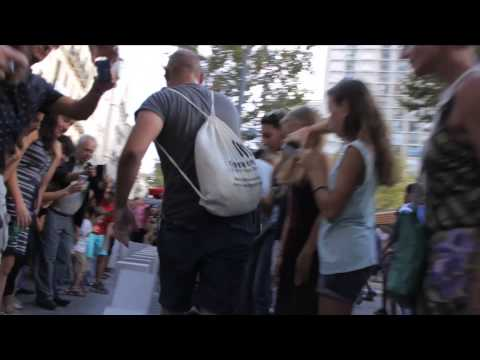 Vidéo 3mn Dominoes Marseille - Station House Opera - Lieux publics 28/09/2014