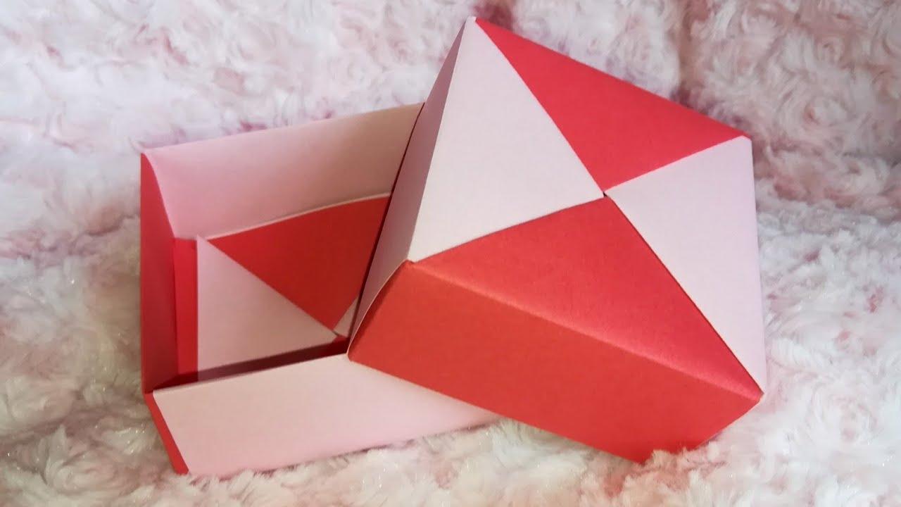 origami plier une boite en origami modulaire diy pliage de papier youtube. Black Bedroom Furniture Sets. Home Design Ideas