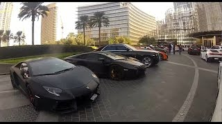 Richest People in Middle East Lifestyle ! a Girl drives Supercars in Dubai !