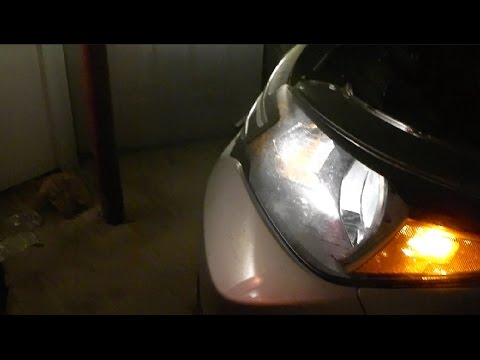 Honda Cr V Headlight Bulb Replacement Replaced With Led Headlights Youtube