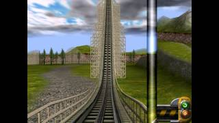 Roller Coaster Factory 2 PC 2002 Gameplay