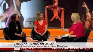 BBC World News Live - Even When I Fall Interview