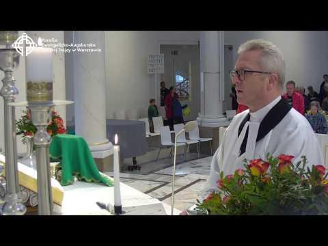 Nabożeństwo z kościoła Świętej Trójcy 21 października 2018