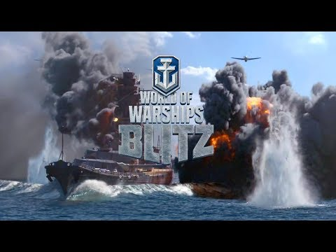 World of Warship Blitz Gameplay Trailer (iOS Android)