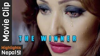 यो आशु झार्न बन्द गर  - New Nepali Movie THE WINNER scene Ft.Malina Joshi, Manchin Shakya