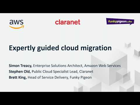 Webinar: How Claranet saved Funky Pigeon 40% on AWS - Hosting