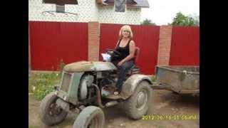 Фото Как поеду я на тракторе