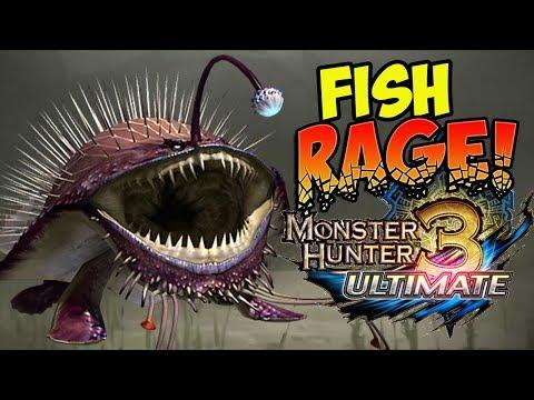 FISH OF THE YEAR AWARD... GOBUL! Monster Hunter 3 Ultimate