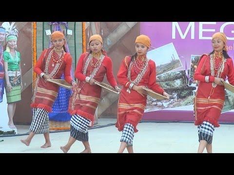 Meghalaya : Cultural Programme Full : IITF 2013 : Pragati Maidan Trade Fair : New Delhi