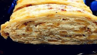 Гениальная ВЫПЕЧКА без муки и теста которую просят готовить каждый день Самый Вкусный рецепт Рулета