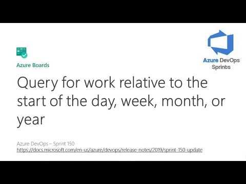 Azure Devops Query Date Format