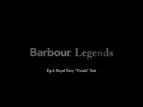 "Legends: The Royal Navy ""Ursula"" Submarine Suit By Barbour"
