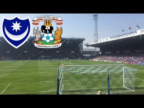 Matchday Experience Portsmouth VS Coventry City 22/04/2019