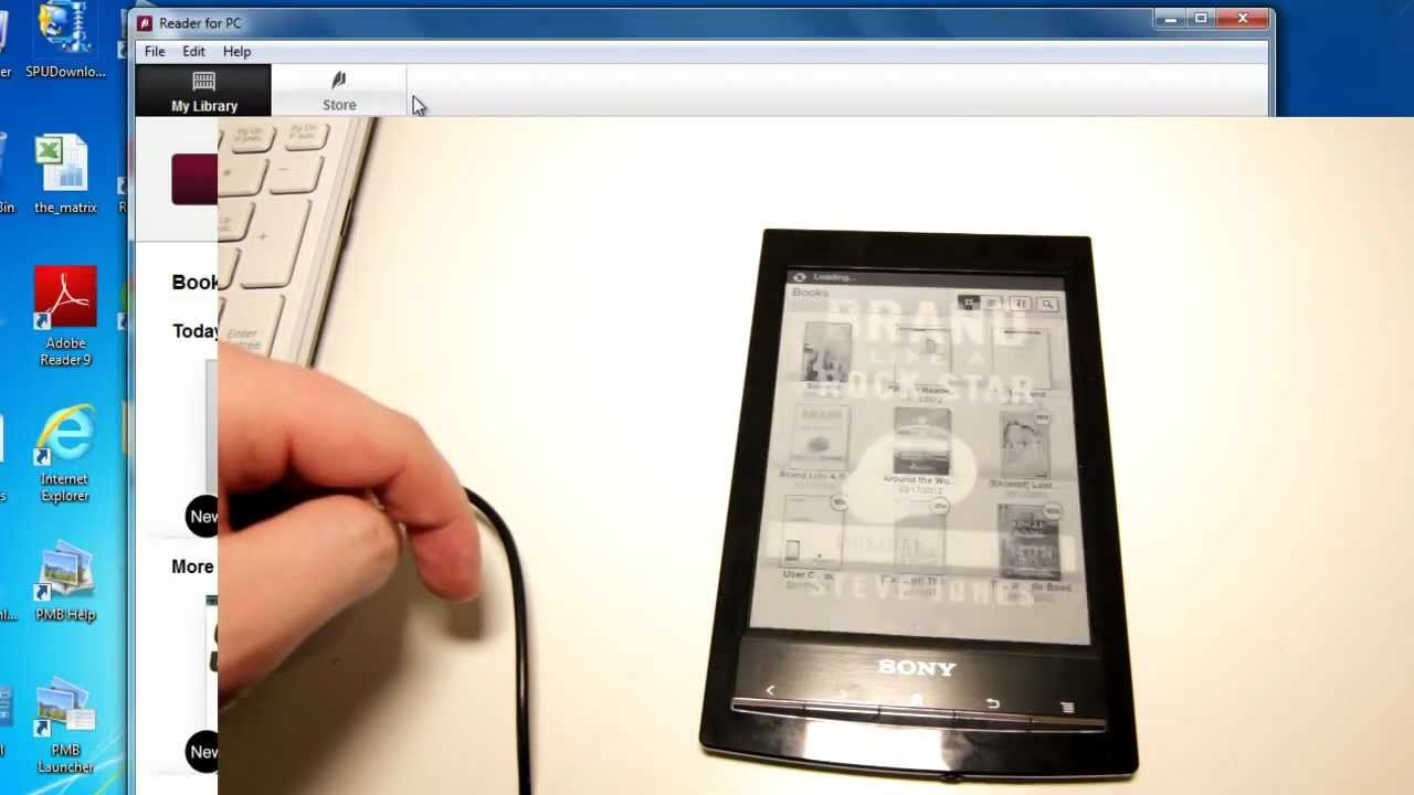how to transfer pdf files to kobo ereader