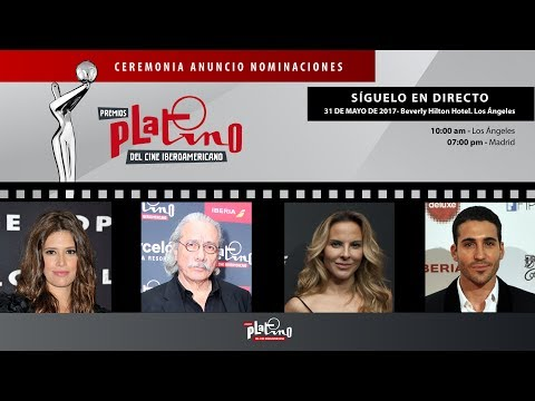 Premios Platino 2017. En Directo. Ceremonia de Selección de Candidatos