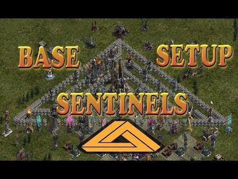 Best Base Setup - Sentinels Designe - September Edition . War Commander