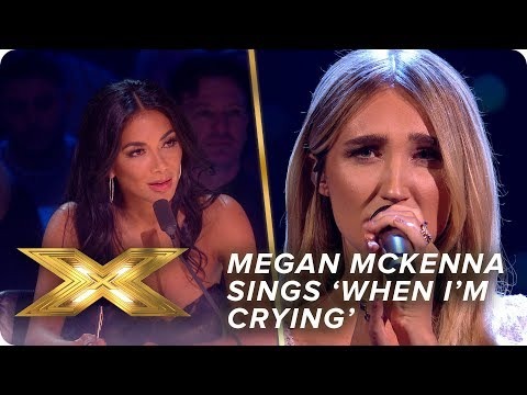 Megan McKenna gives an ethereal performance of 'When I'm Crying' | Live Show 4 | X Factor: Celebrity