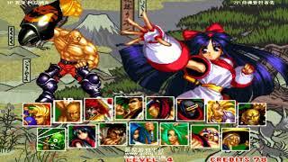 Samurai Shodown 2 サムライスピリッツ GOTVG ➤ Hai Dong vs Geng Zei