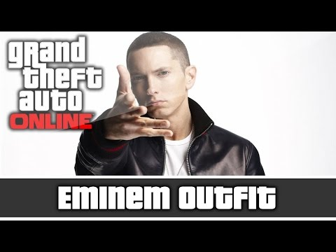 GTA 5 Online - Two Eminem Outfits and Customization