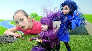 Видео для девочек Наследники Дисней - Приключения Умы