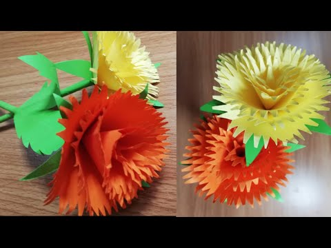 How To Make Beautiful Flower Step By Step | Paper Flower | DIY-Beauty Of Paper