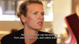 Falke footprints: Visiting architect Julie Grangé in Antwerp. French with English subtitles