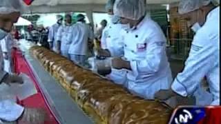 Preparan la hallaca más grande del mundo en Los Próceres