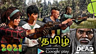 The Walking Dead Survivors Download On Android | Gameplay In Tamil