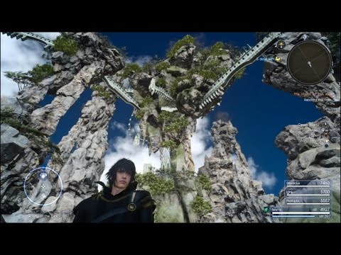 FFXV | Explore Tenebrae! | Out of Bounds TUTORIAL 1.08 | Final Fantasy XV