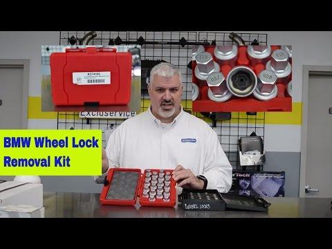 Wheel Lock Key Kit - BMW