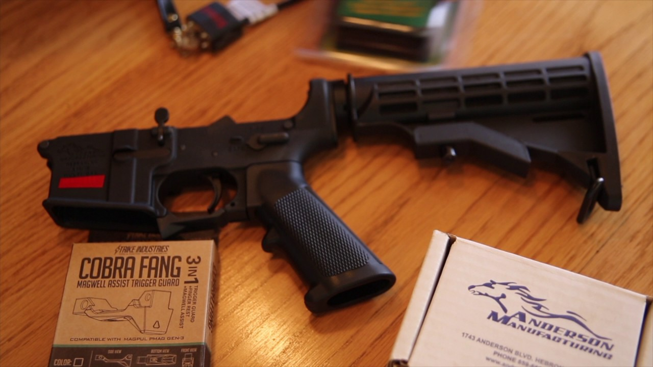 Anderson AR-15 Lower Receiver
