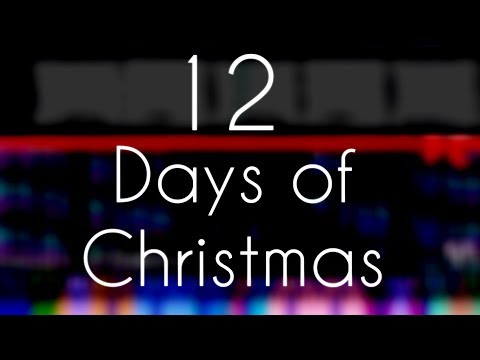 [Black MIDI] 12 Days Of Christmas - Exactly 12 Million Notes!!!