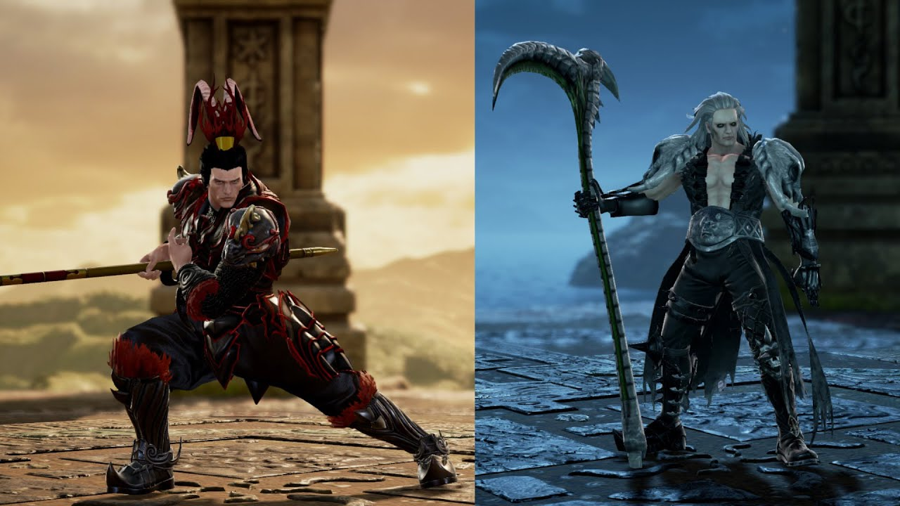 Soul Calibur VI Creations - Necromancer vs Lu Bu