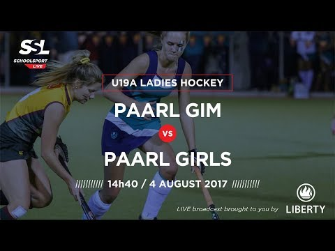 Hockey, Paarl Gim U19A vs Paarl Girls U19A, 04 August 2017